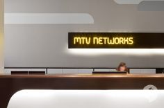 front of MTV Networks Headquarters Interiors Design