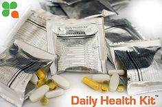 Vital Bulk Daily Health Kit Packet Multivitamin  Mineral Supplements 30 Count Bag -- Learn more by visiting the image link.