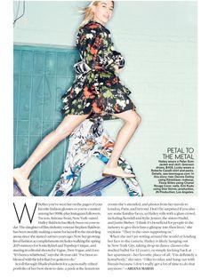 FLOWER POWER (Teen Vogue) Teen Vogue, Flower Power, Wrap Dress, Stylists, Flowers, Model, Hair, Dresses, Fashion