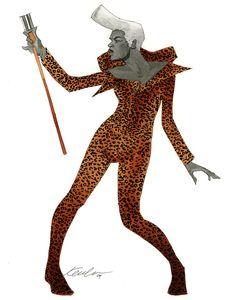 Ruby Rhod from The Fifth Element by Kevin Wada