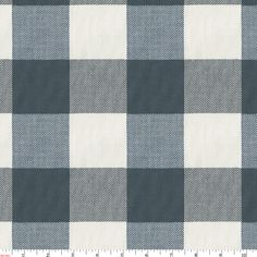 Navy Buffalo Check Fabric by the Yard from Carousel Designs. This traditional buffalo check coupled with classic navy blue and cream adds the perfect touch of masculinity to any room decor. This stunning fabric is woven from soft cotton fibers. Baby Boy Rooms, Baby Boy Nurseries, Baby Boys, Buffalo Check Fabric, Couples Baby Showers, Basement Furniture, Carousel Designs, Navy Fabric, Man Room