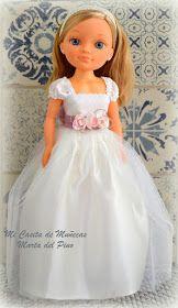 Mi casita de muñecas: Vestidos de Comunión y de Novia Girl Doll Clothes, Girl Dolls, Nancy Doll, Barbie Model, America Girl, Custom Dolls, Vintage Dolls, Marie, Cinderella