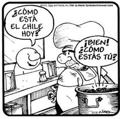 Have your students translate over 17 comics dealing with LA COMIDA, download it here: http://spanishplans.org/2013/02/15/la-comida-media/