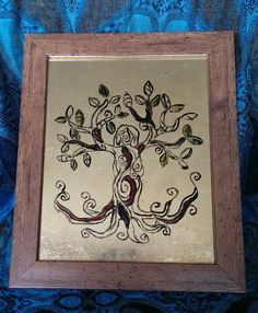 Tree Goddess Glass Painting Goddess Wall Art by WideEyedOwlDesign on Etsy https://www.etsy.com/uk/listing/234420557/tree-goddess-glass-painting-goddess-wall