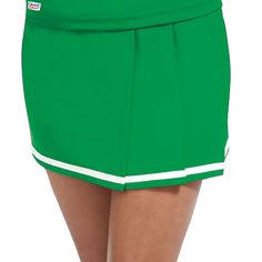 Double Knit 3 Pleat Cheer Uniform Skirt by Chassé Sport