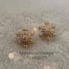 Indian Jewelry Earrings, Real Gold Jewelry, Gold Jewelry Simple, Jewelry Design Earrings, Gold Earrings Designs, Gold Earrings For Kids, Gold Mangalsutra Designs, Gold Chain Design, Mangalore