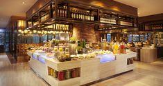Hilton Foshan Hotel, China - OPEN Restaurant Buffet Counter