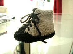 Baskets BB au tricot