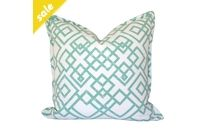 Sage Cross Over Scatter Cushion by Elle Kay Fabrics