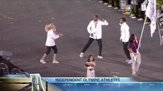 How much did you love the Independent Athletes and their dance during the Parade of Nations?