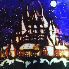 "Saatchi Art Artist sand art bluto; New Media, ""Château Frontenac de Québec au Canada"" #art"