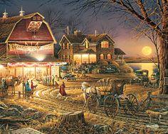 Harvest Moon Ball, Terry Redlin