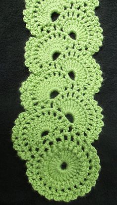 Crochet~ Queen Anne's Lace Scarf ~ Free Pattern