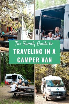 5 tips for family camping in a van to make your next road trip epic!