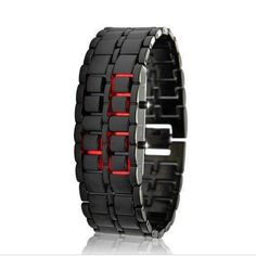 Red LED Watch - Iron Samurai https://seethis.co/JQ5AZk/