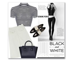 """black and white"" by gina-m ❤ liked on Polyvore featuring Givenchy"
