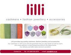 lilli - cashmere | fashion jewellery | accessories