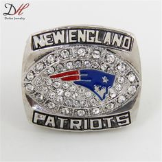 9be6f535600 Daihe CR-20524 2007 New England Patriots AFC Championship Ring Big Size 11