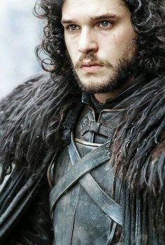 Kit Harington as Jon Snow of House Stark, King of the North in 'Game of Thrones' (HBO Jon Snow, Kit Harington, Winter Is Here, Winter Is Coming, Jon Schnee, Xavier Samuel, Arte Game Of Thrones, Game Of Thrones Merchandise, Ned Stark