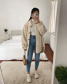 Trendy Fall Outfits, Casual Winter Outfits, Winter Fashion Outfits, Classy Outfits, Stylish Outfits, Fall Dress Outfits, Fall School Outfits, Fall Outfit Ideas, Date Outfit Fall