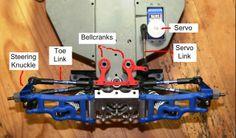 Slash Steering setup / bellcranks / toe link pictorial