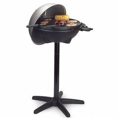 """A friend has this grill and it works great.  George Foreman 240"""" Indoor/Outdoor Grill, GGR50B"""