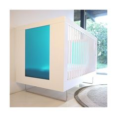 Spot On Square Spot On Square - Alto Crib With Translucent Color... ($1,690) ❤ liked on Polyvore featuring home, children's room, children's furniture and nursery furniture