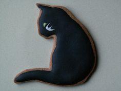 Halloween cookies By Honeycat Cookies☆