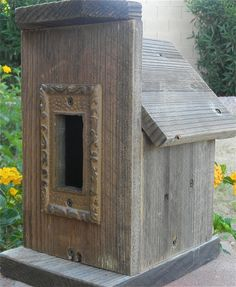 Birdhouse Rustic General Store 274 by Forthebirdsandmore on Etsy, $24.95