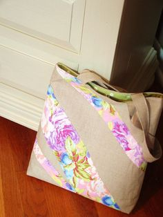 linen floral bag 3 | Flickr - Photo Sharing!