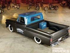 "'64 Chevy C-10 ""Foundry"" shot truck"