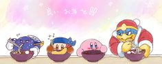 Ptsh lol, this is great! Meta Knight especially haha.