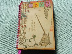 "Robyn Coburn - Natural Life Magazine's Crafting for a Greener World columnist - loves ""Smash Books."" (Apparently, it's a trademark and I can't figure out how to add a ""tm"" here.) In this column, she shows how to make an art journal."