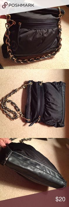 Sak Roots Chained Handle Handbag Great condition. Measures about 11 inches across. Sak Roots Bags Shoulder Bags