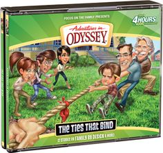 """Adventures in Odyssey Album 58: """"The Ties That Bind"""""""