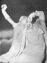 Image result for marilyn monroe yawning