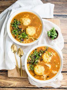 Easy Chicken soup Recipes Fresh 50 Best Winter soups & Stews Hearty soup Recipes for Winter Hearty Soup Recipes, Chicken Soup Recipes, Beer Recipes, Fall Recipes, Chilli Recipes, Chicken Rice, Creamy Chicken, Cornmeal Dumplings, Kitchens