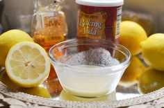 DIY***Exfoliating/Healing Mask of Honey, Lemon, and Baking Soda. Did this, and loved it!