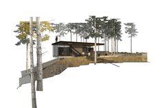 low maintenance cabin at case inlet puget sound retreat