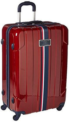 Shop a great selection of Tommy Hilfiger Lochwood 28 Inch Spinner Luggage, Burgundy, One Size. Find new offer and Similar products for Tommy Hilfiger Lochwood 28 Inch Spinner Luggage, Burgundy, One Size. Best Travel Luggage, Cute Luggage, Luggage Sets, Luxury Luggage, Hard Sided Luggage, Cute Suitcases, Luggage Reviews, Hardside Spinner Luggage, Dibujo