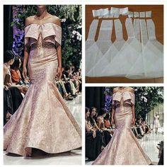 Sabrina mermaid dress patyern Order by line Fashion Sewing, Diy Fashion, Fashion Dresses, Dress Sewing Patterns, Clothing Patterns, Sewing Clothes, Diy Clothes, Robes Glamour, Gown Pattern