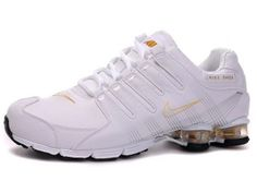 Chaussures Nike Shox R4 Blanc/ Jauge [nike_12201] - €45.85 : Nike Chaussure Pas Cher,Nike Blazer and Timerland  http://www.facebook.com/pages/Chaussures-nike-originaux/376807589058057
