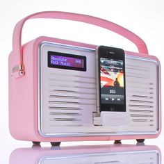 Retro Radio DAB+ Pink