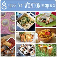 wonton wrappers for more than just dumplings