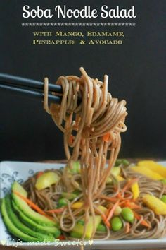 Asian Noodles With Chicken And Pineapple Recipe — Dishmaps