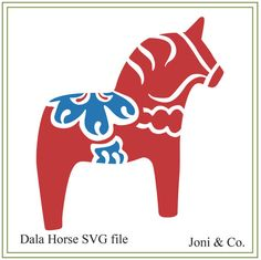 Dala Horse SVG File, Scandinavian Christmas, Swedish Christmas, vinyl cutting, cards, iron on transfer, Sweden, crafts, SVG, Sweden  Welcome,  Thank you for visiting the shop and having a look at the original artwork offered here.  This is an instant download of a SVG file to be used for cutting vinyl among many other uses.  WHAT YOU WILL RECEIVE  The SVG file will arrive zipped.  A download link will be emailed to you just a few minutes after your purchase. You will also be able to access th... Swedish Christmas, Scandinavian Christmas, Local Craft Fairs, Horse Pattern, Horse Crafts, Christmas Vinyl, Christmas Ornaments, Vinyl Cutting, Iron On Transfer