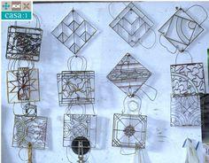 Mit diesen Schablonen entsteht das jeweilige Muster von Casa:1 Zementfliesen.