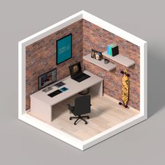 isometric-room-pdr