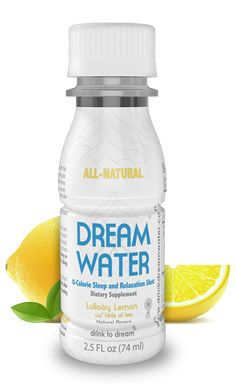 Dream Water® - Sleep Aids, Natural Sleep Aids, Sleep Remedies | Dream Water ® Natural Sleep Aid and Relaxation Shot - Sleep Remedies and Sleep Tips