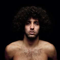 Bar Am David (pictured below with the Afro hair and green eyes) is a London/Tel Aviv based photographer. His portraits have been included in the National Portrait Gallery in London as a part of the Taylor Wessing Photographic Portrait Prize and most recently he was one of the 20 finalists in Photo LA 2013: The 22nd Los Angeles International Photography Art Exposition.